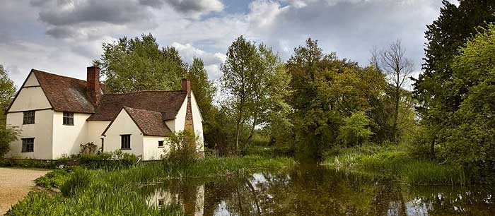 Flatford Mill painting holiday with Jamie Sugg